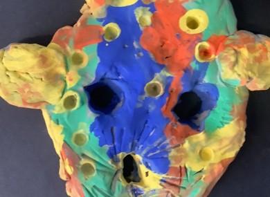 Finished masks (3)