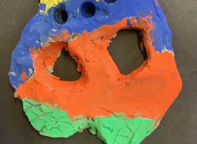 Finished masks (12)
